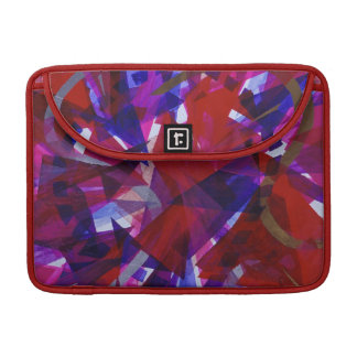 Dance of Life - Abstract Whimsical Light Sleeve For MacBook Pro