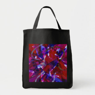 Dance of Life - Abstract Whimsical Light Tote Bag