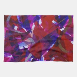 Dance of Life - Abstract Whimsical Light Towel