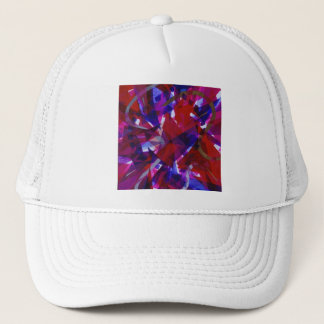 Dance of Life - Abstract Whimsical Light Trucker Hat