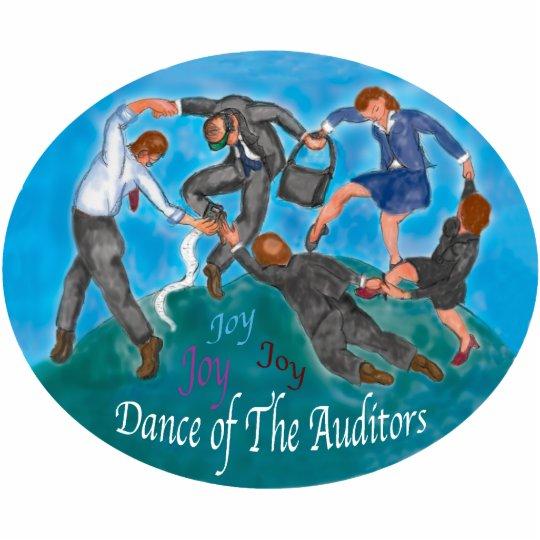 Dance of the Auditors Ornament