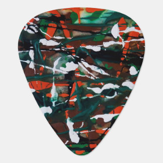 Dance of the Autumn Leaves Guitar Pick