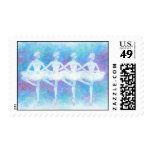 Dance of the Baby Swans Postage Stamp