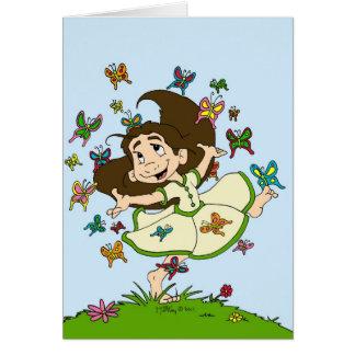 Dance of the Butterflies Card