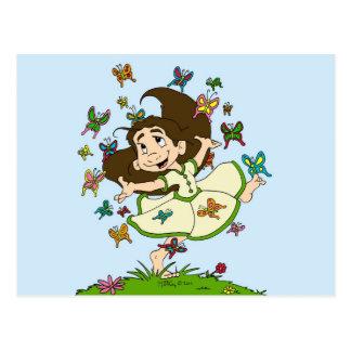 Dance of the Butterflies Postcard