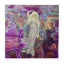 Dance of the Butterfly Fairy Ceramic Tile (<em>$13.70</em>)