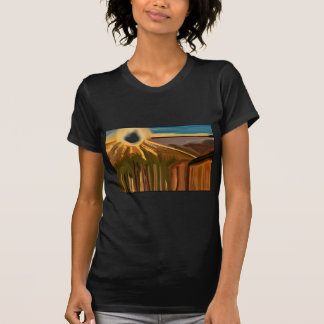 Dance of The Cacti Abstract Art T-Shirt