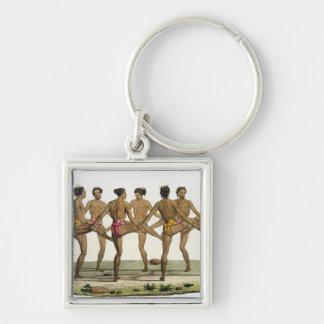 Dance of the Caroline Islanders, plate 22 from 'Le Keychain