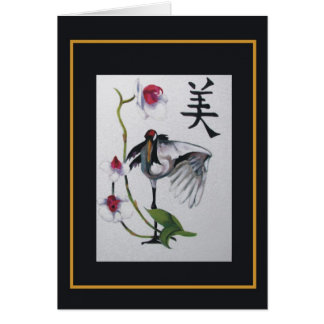 Dance of the Crane Cards