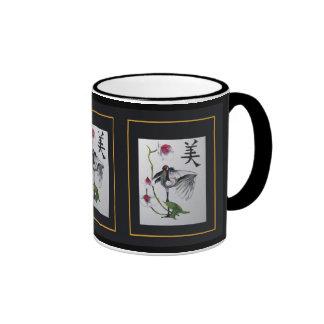 Dance of the Crane, Ringer Coffee Mug