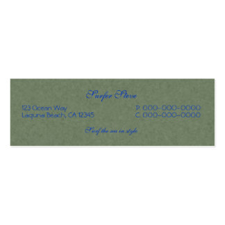 Dance of the Dolphins Abstract Art Business Card