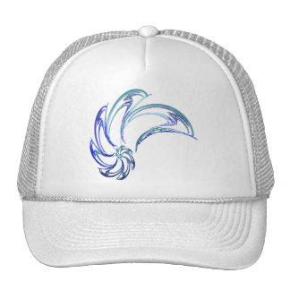 Dance of the Dolphins Abstract Art Trucker Hat