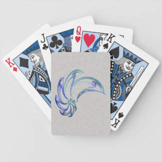 Dance of the Dolphins Abstract Art Bicycle Poker Deck
