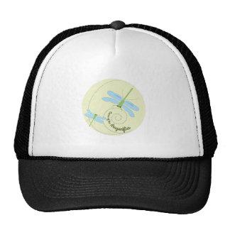 Dance of the dragonflies trucker hat