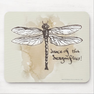Dance of the Dragonflies Mouse Pad