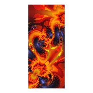 Dance of the Dragons - Indigo & Amber Eyes  Artist Card