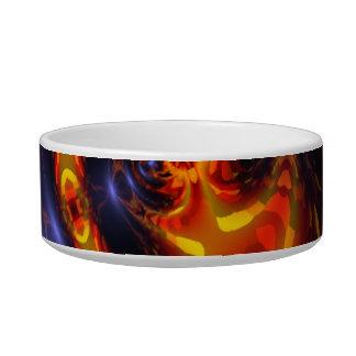 Dance of the Dragons - Indigo & Amber Eyes Bowl