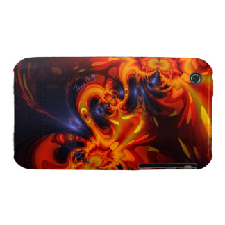 Dance of the Dragons - Indigo & Amber Eyes iPhone 3 Covers