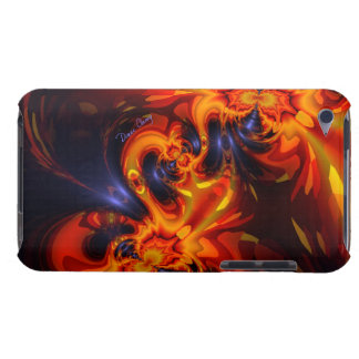 Dance of the Dragons - Indigo & Amber Eyes Case-Mate iPod Touch Case