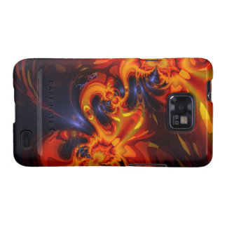 Dance of the Dragons - Indigo & Amber Eyes Samsung Galaxy SII Case