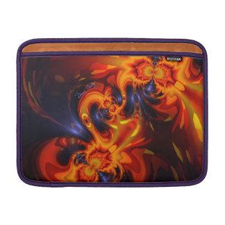 Dance of the Dragons - Indigo & Amber Eyes MacBook Air Sleeve