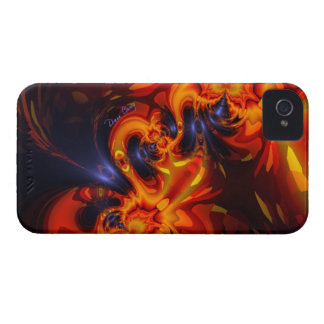 Dance of the Dragons - Indigo & Amber Eyes iPhone 4 Case-Mate Case