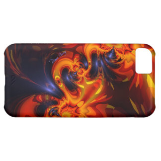 Dance of the Dragons - Indigo & Amber Eyes iPhone 5C Cover