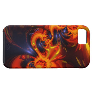 Dance of the Dragons - Indigo & Amber Eyes iPhone SE/5/5s Case