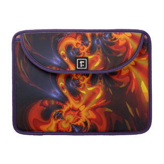 Dance of the Dragons - Indigo & Amber Eyes Sleeve For MacBook Pro
