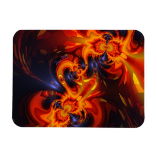 Dance of the Dragons - Indigo & Amber Eyes Vinyl Magnets