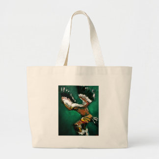 Dance of the Eagle Large Tote Bag