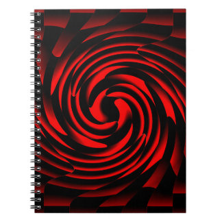Dance of the elements of fire spiral notebook