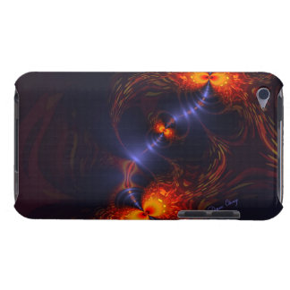 Dance of the Eyes – Indigo and Gold Sight Barely There iPod Cases