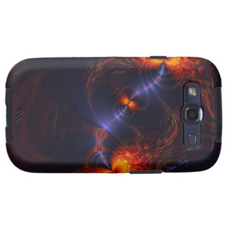 Dance of the Eyes – Indigo and Gold Sight Samsung Galaxy S3 Cover