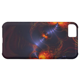 Dance of the Eyes – Indigo and Gold Sight Cover For iPhone 5C