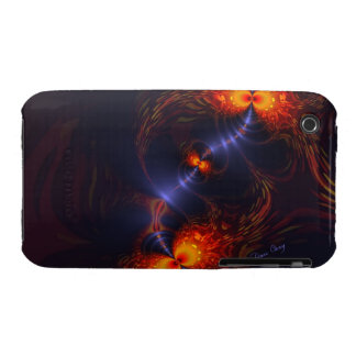 Dance of the Eyes – Indigo and Gold Sight iPhone 3 Case-Mate Cases