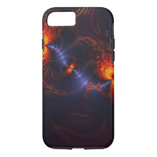 Dance of the Eyes – Indigo and Gold Sight iPhone 7 Case