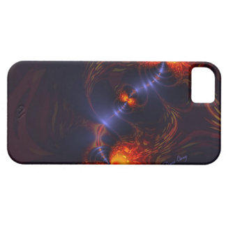Dance of the Eyes – Indigo and Gold Sight iPhone SE/5/5s Case