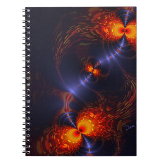 Dance of the Eyes – Indigo and Gold Sight Note Books