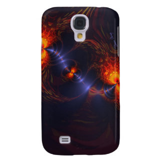Dance of the Eyes – Indigo and Gold Sight Samsung Galaxy S4 Case
