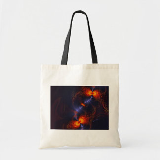 Dance of the Eyes – Indigo and Gold Sight Tote Bag