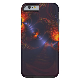 Dance of the Eyes – Indigo and Gold Sight Tough iPhone 6 Case