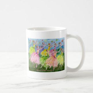 Dance Of the Flowers Coffee Mugs