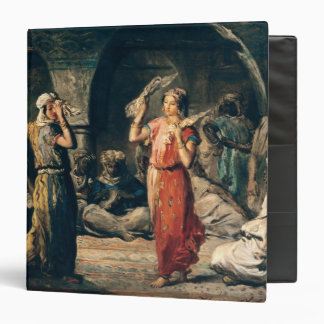 Dance of the Handkerchiefs, 1849 Binder