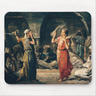 Dance of the Handkerchiefs, 1849 Mouse Pad