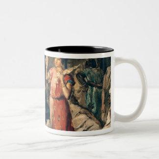 Dance of the Handkerchiefs, 1849 Coffee Mugs