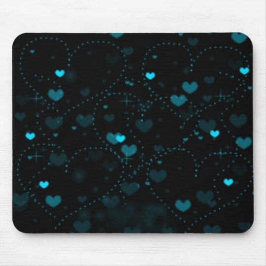 Dance of the Hearts Mouse Pad