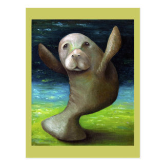 Dance Of The Manatee Postcards