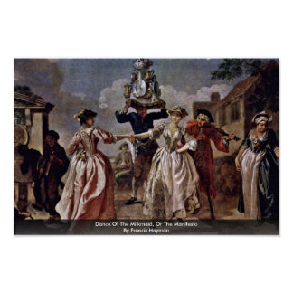 Dance Of The Milkmaid, Or The Manifesto Poster