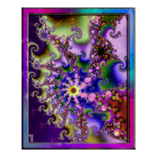 Dance of the Multiverse Variation 1  Art Print